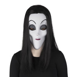 Morticia Addams Masker | One size
