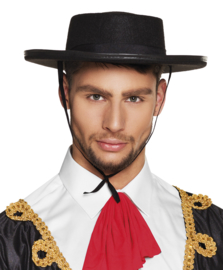 Spaanse matador hoed