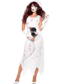 Zombie bruids jurk
