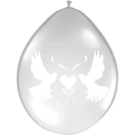 Ballonnen trouw duiven