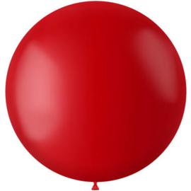 Ballon Ruby Red Mat - 78 cm