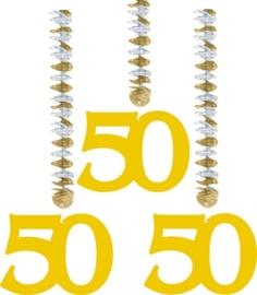 Hangdecoratie 50 jaar