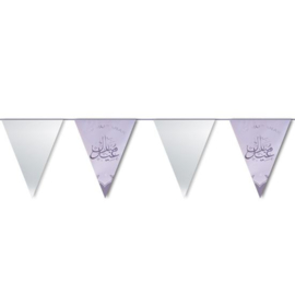 Eid Mubarak vlaggenlijn
