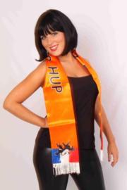 Satijnen Sjawl oranje hup holland