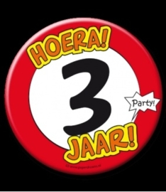 Button XL 3 jaar