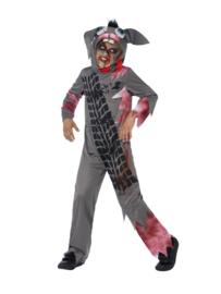 Roadkill konijn kostuum