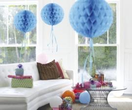 Honeycomb deco lichtblauw