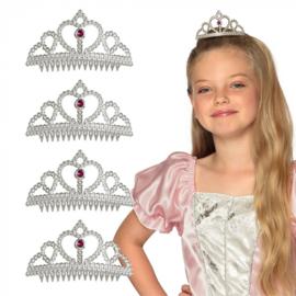 Set 4 tiara's prinses