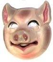 Masker plastic varken - kind