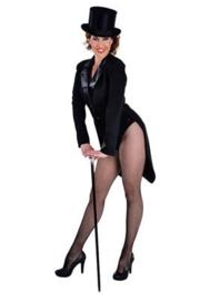 Slipjas cabaret zwart
