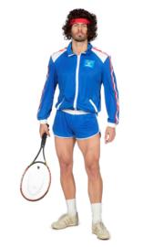 John Mc Enroe tennis kostuum