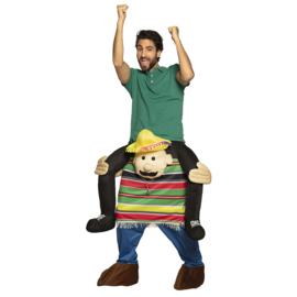 Carre me Kostuum door mexicaan gedragen