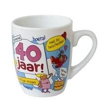 Mok 40 jaar! (vrouw)