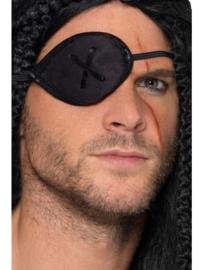 Pirate ooglap zwart