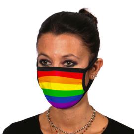 Mondkapje met regenboog | rainbow