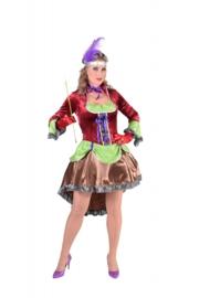 Burlesque jurk deluxe