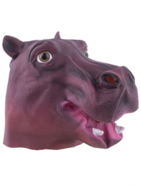 Nijlpaard masker latex