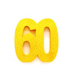 Tafel decoratie goud 60