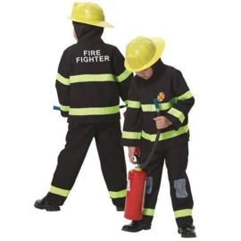 Brandweerman kostuum jongen