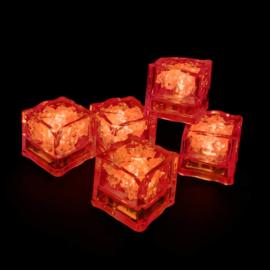 LED ijsblokjes rood