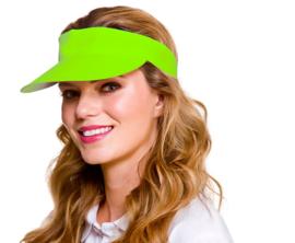 Golf cap neon groen