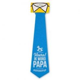 Fun stropdas hoera Papa