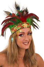 Veren hoofd tooi | Comanche carnavalstooi