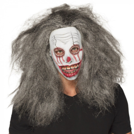 Latex hoofdmasker Zombie | grey