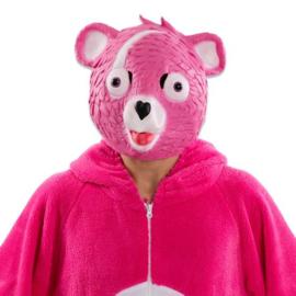 Masker pink bear fortnite masker