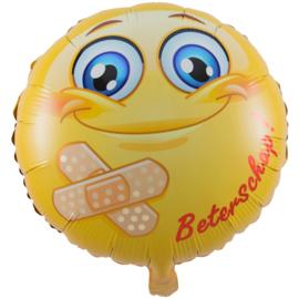 Beterschap smiley folieballon