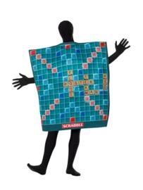 Scrabble bord kostuum