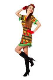 Mexicaanse bandita jurkje
