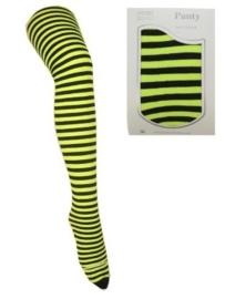 Panty streep geel en zwart