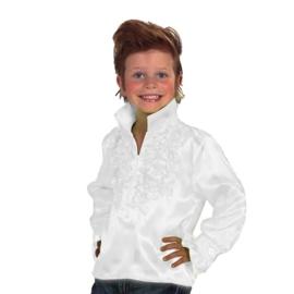 Disco blouse kinderen wit OP=OP