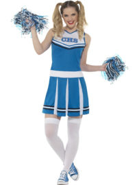 Cheerleader blauw wit