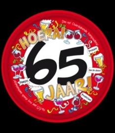 Dienblad 65 jaar