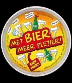 Dienblad met Bier meer plezier