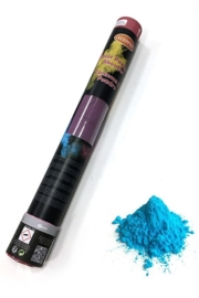 Color Powder shooter blue