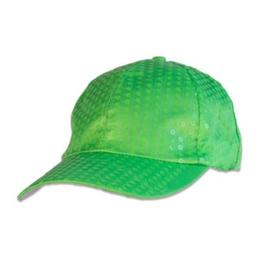Baseball pet paillet  | Neon groen