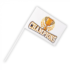 Zwaaivlag 'Champions' | Kampioenen