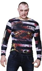 3D T-shirt prisoner zombie