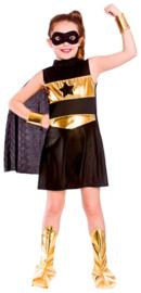 Super helden kostuum - Black
