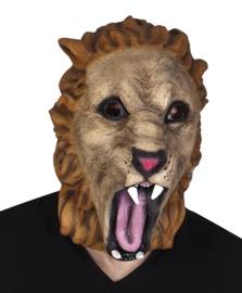 Latex leeuw masker