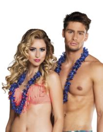 Hawaii krans blauw easy 25 stuks