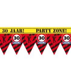 Markeerlint verkeersbord punt 30 jaar
