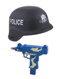 Politie set kind