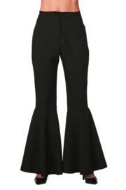 Disco broek dames zwart