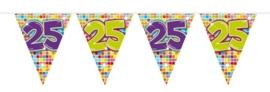 Mini vlaggenlijn 25 jaar