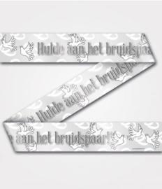 Party Tape - Hulde aan het bruidspaar | Afzetlint