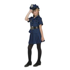 Meisjes politie jurkje